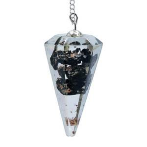 Bilde av Orgonite pendel - Orgone Pendulum Black