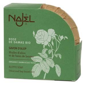 Bilde av Aleppo soap with organic Damascus rose