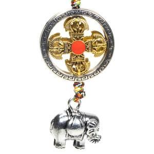 Bilde av Beskyttelse pendant anheng double dorje with
