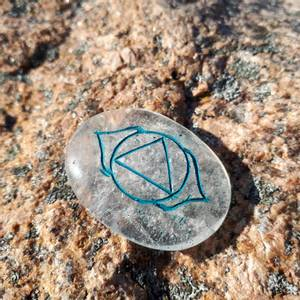 Bilde av Bergkrystall Reiki chakra steiner sett 7