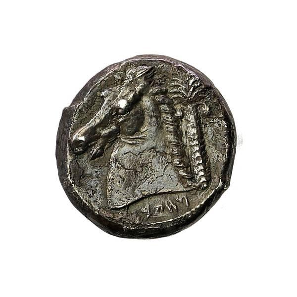 Bilde av Karthagere på Sicilia Tetradrakme 4. årh. f.Kr.