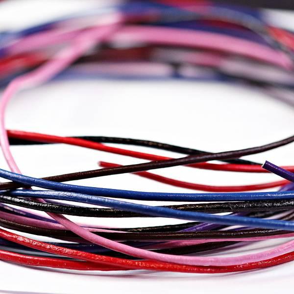 Bilde av Lærsnor til smykker/anheng/luper