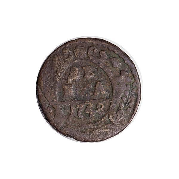 Bilde av Russland Denga 1748