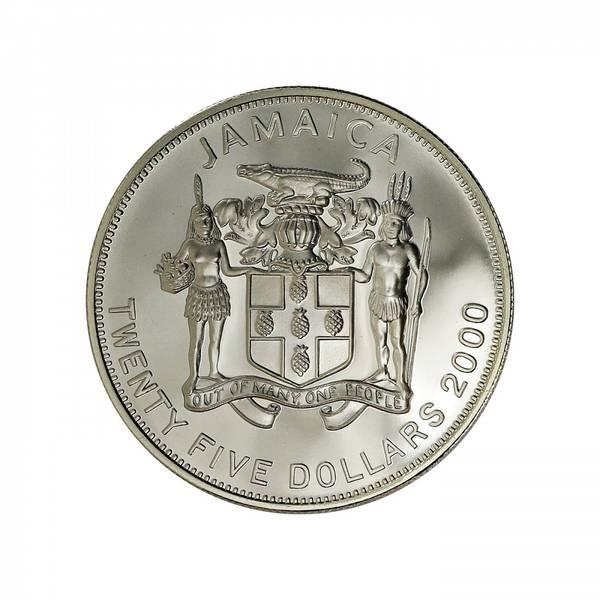 Bilde av Jamaica 25 dollars 2000