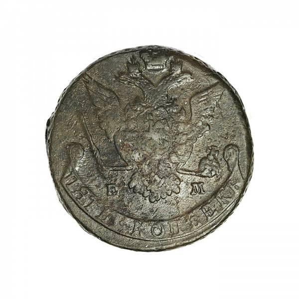 Bilde av Russland 5 kopek 1776