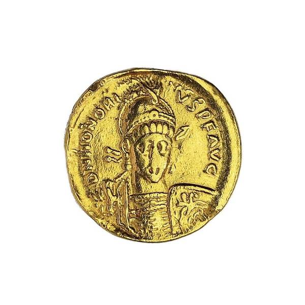 Bilde av Honorius Solidus 393-425 Gull!