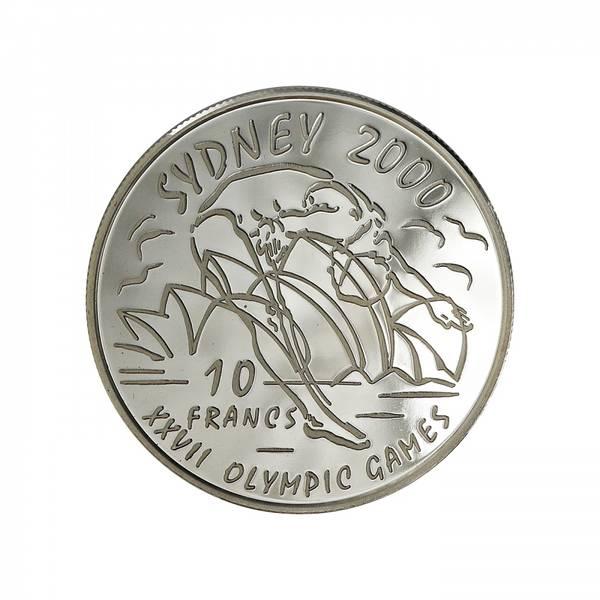 Bilde av D.R. Kongo 10 francs 1999