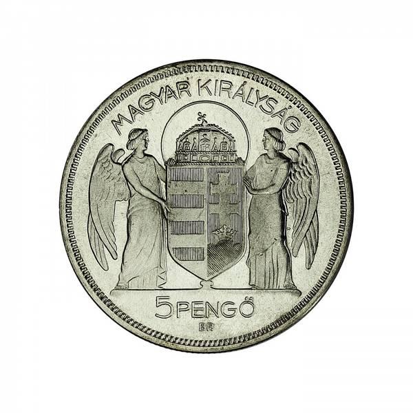 Bilde av Ungarn 5 pengö 1930 Restrike