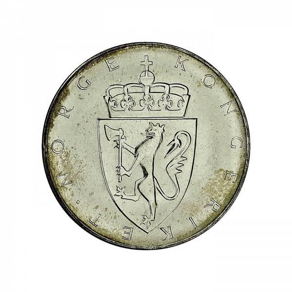 Bilde av Grunnloven 10 kroner 1964 Speilglans