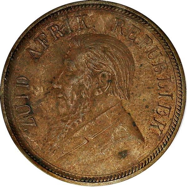 Bilde av Sør-Afrika 1 penny 1898