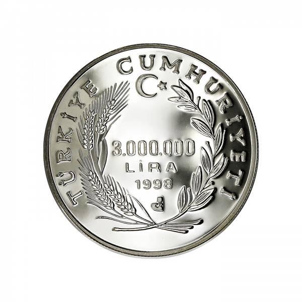 Bilde av Tyrkia 3 000 000 lira 1998