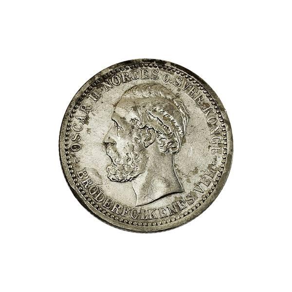 Bilde av 50 øre 1893