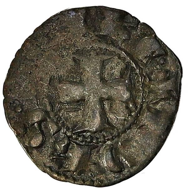 Bilde av Achaia Johannes Denier 1322-1333 Korsfarer