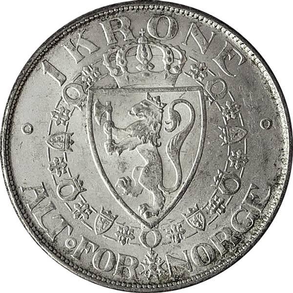 Bilde av 1 krone 1915 Usirkulert