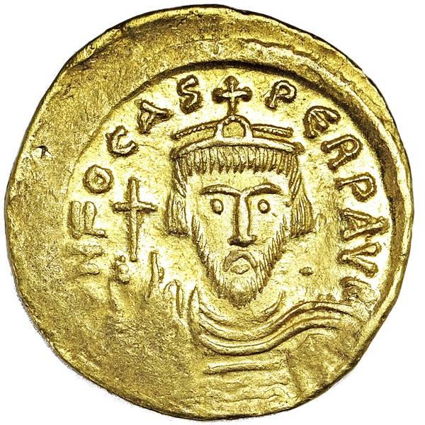Bilde av Bysants Focas Solidus 602-610 Gull!