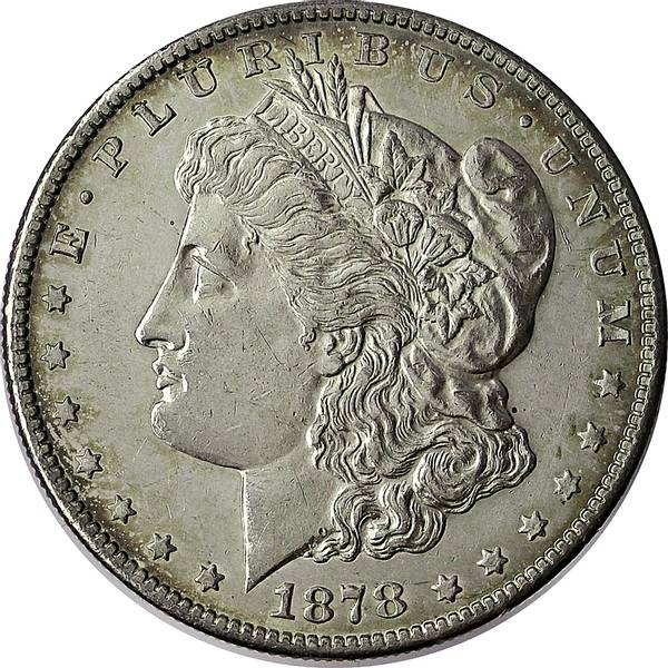 Bilde av USA 1 dollar 1878 S