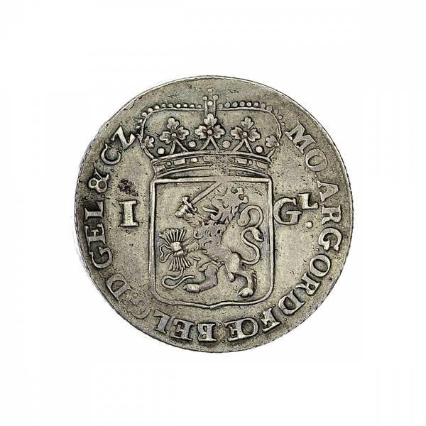 Bilde av Nederland Gelderland 1 gulden 1763