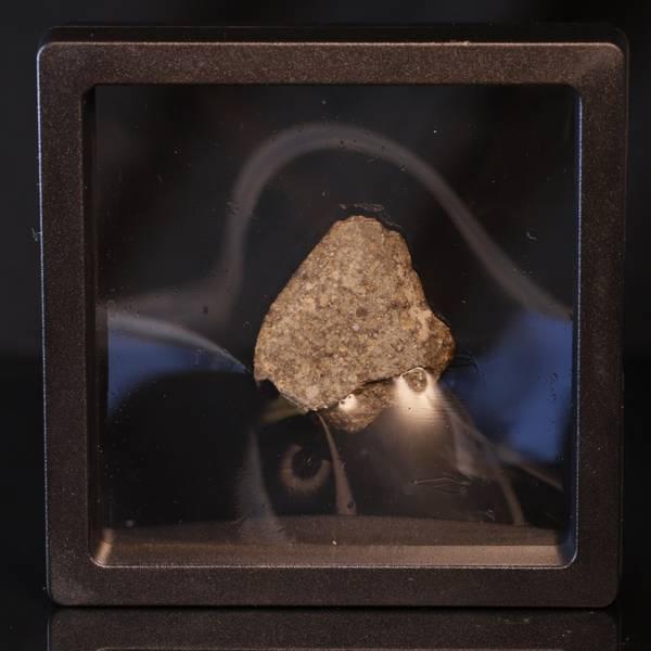 Bilde av Steinmeteoritt (NWA-kondritt), skive, 13,1 gram