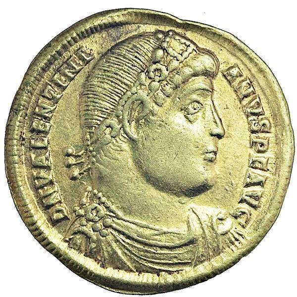 Bilde av Valentinian I Solidus 364-375 Gull!