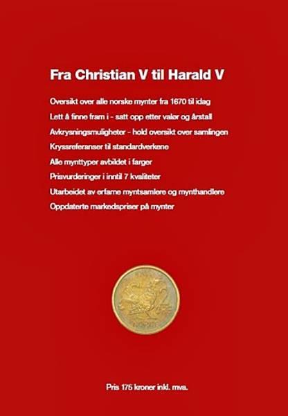 Bilde av Handlerkatalog norske mynter 2018