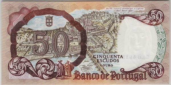 Bilde av Portugal 50 escudos 1964