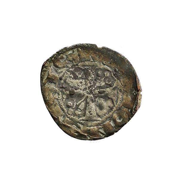 Bilde av Frankrike Bourgogne Denar 1218-1278 Korsfarer