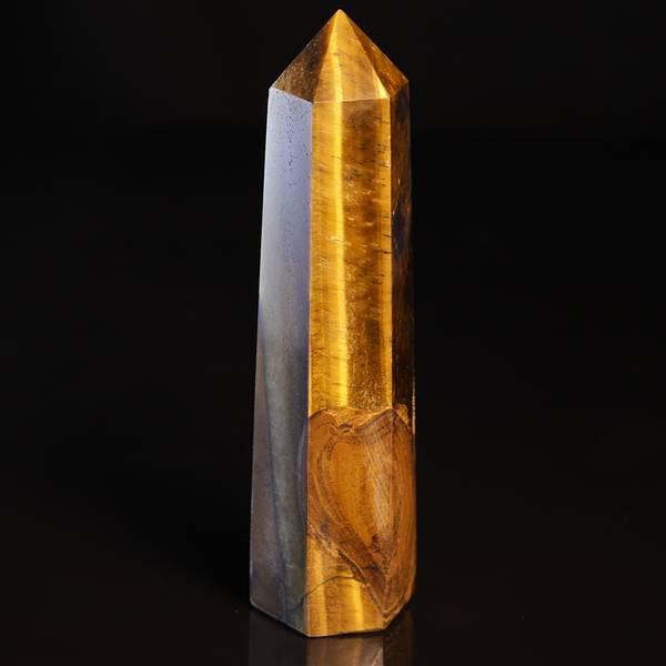 Bilde av Tigerøye, slipt obelisk/søyle