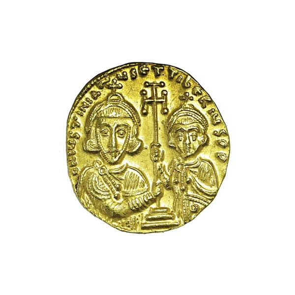 Bilde av Justinian II Solidus 704-711 Kristus
