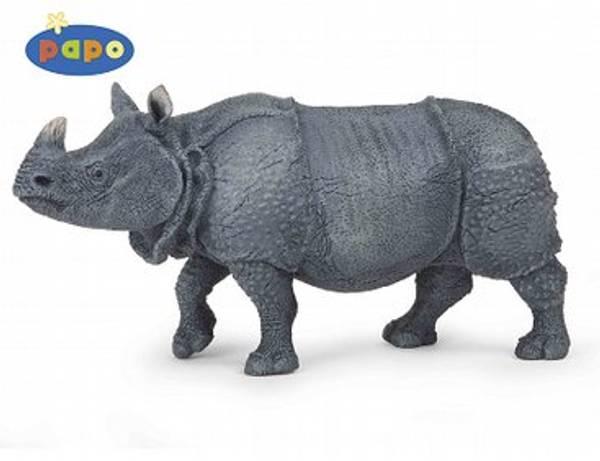 Bilde av Indisk neshorn (Rhinoceros unicornis)