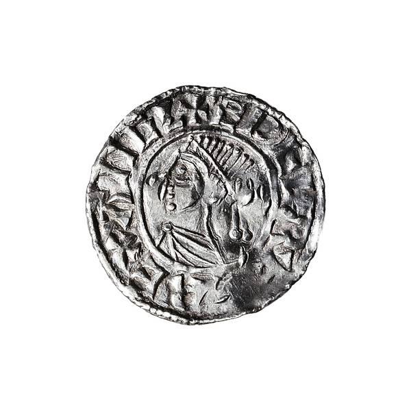Bilde av England Aethelred II Penny 978-1016 Vikingmynt