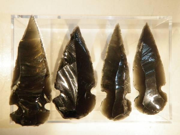 Bilde av Pilspiss av obsidian (