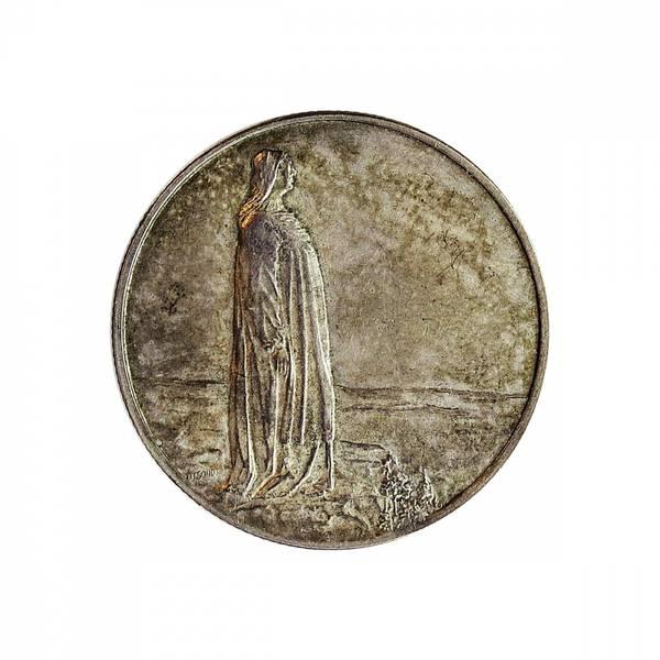 Bilde av 2 kroner 1914 Grunnlovsjubileet