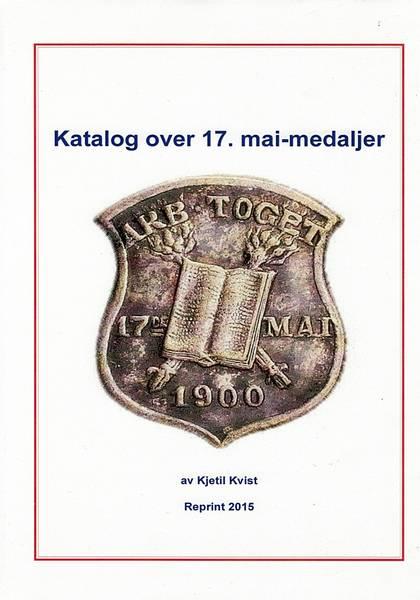 Bilde av Katalog over 17. mai-medaljer