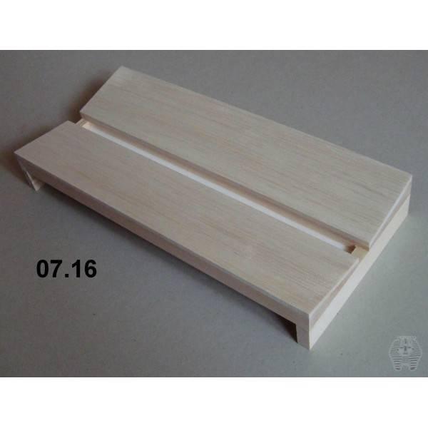 Bilde av Spennbrett i balsa, 14 x 30 cm, 14 mm bred grop