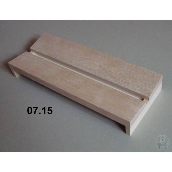 Bilde av Spennbrett i balsa, 12 x 30 cm, 12 mm bred grop