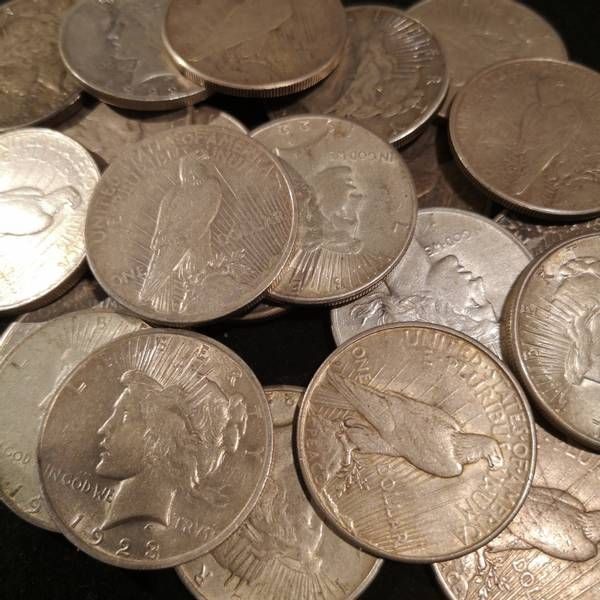 Bilde av USA 1 dollar 1923 Peacedollar