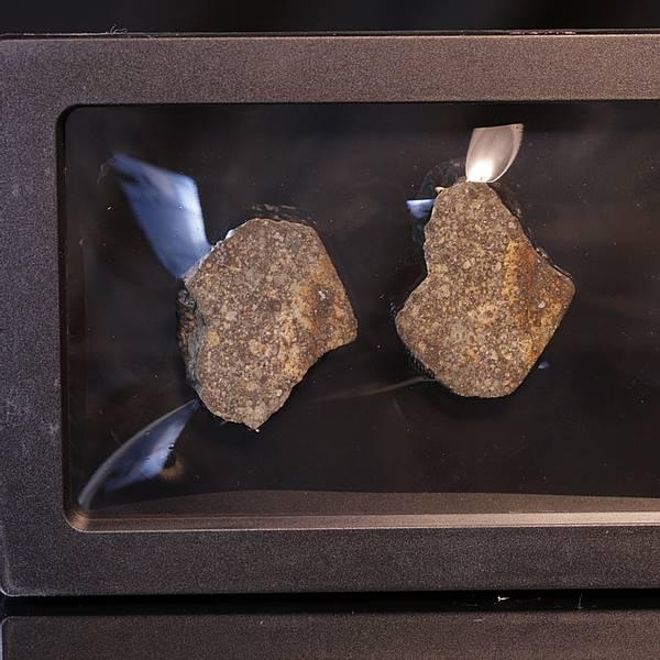 Bilde av Steinmeteoritt (NWA-kondritt), delt, 28,10 gram
