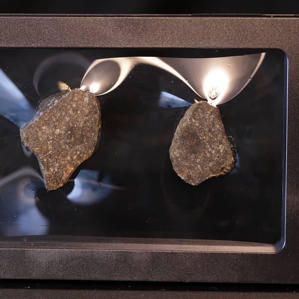 Bilde av Steinmeteoritt (NWA-kondritt), delt, 22 gram