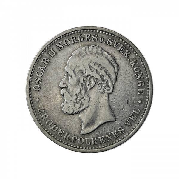 Bilde av 2 kroner 1900