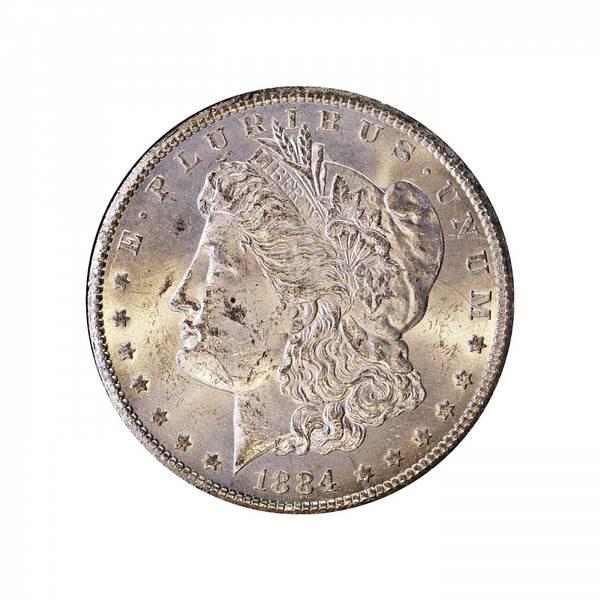 Bilde av USA 1 dollar 1884 CC