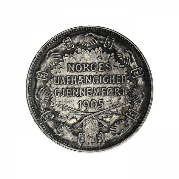 Bilde av 2 kroner 1907 Geværer