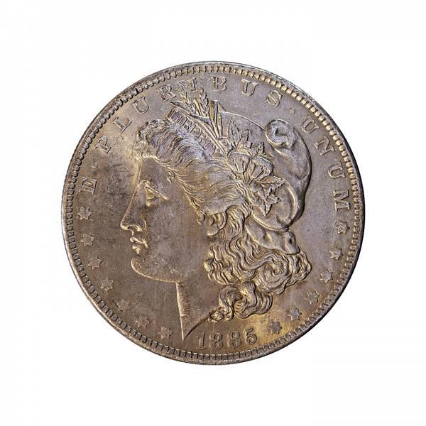 Bilde av USA 1 dollar 1885 O