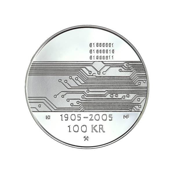 Bilde av 100 kroner 2005 Data