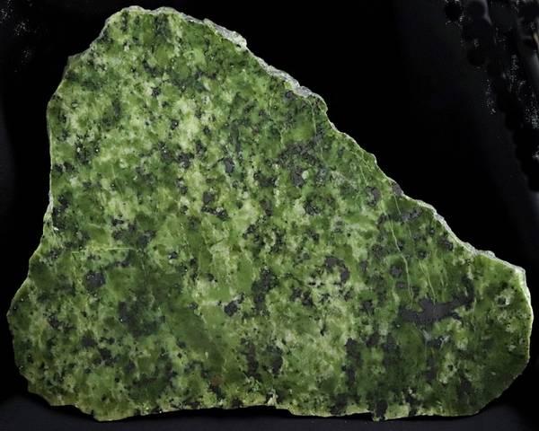 Bilde av Serpentinitt, polert steinskive