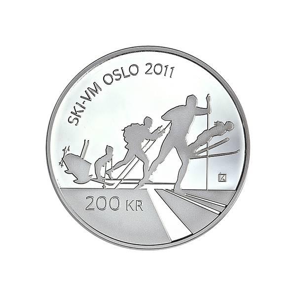 Bilde av 200 kroner 2011 Ski VM