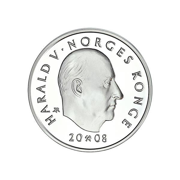 Bilde av 200 kroner 2008 Wergeland