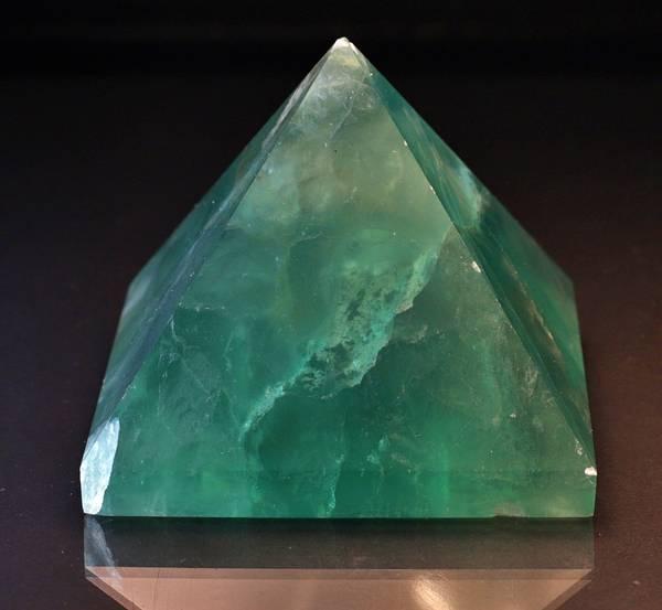 Bilde av Fluorittpyramide, Kina
