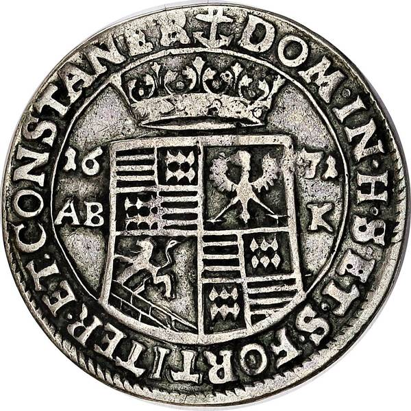 Bilde av Tyskland, Mansfeld 1/3 thaler 1671