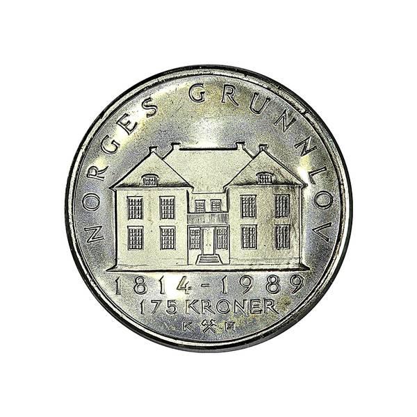 Bilde av Norge 175 kroner 1989 Grunnlovsjubileum