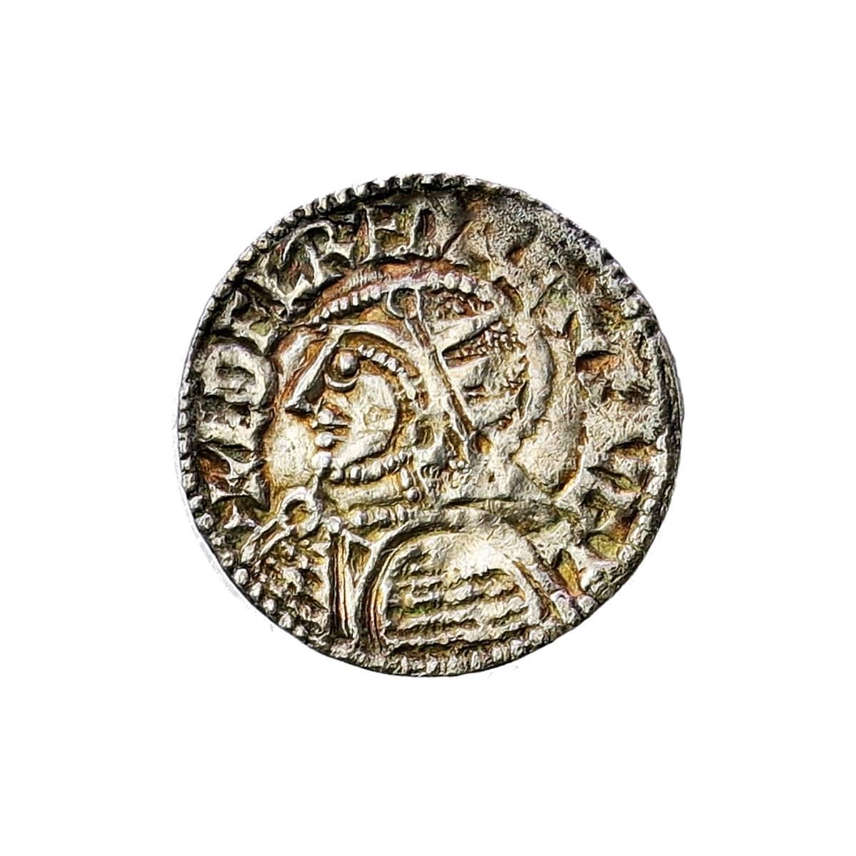 England Aethelred II Penny 978-1016 Vikingmynt